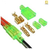 Car Electrical Wire Connector Bullet Terminal Male Female Waterproof Jacket 4mm
