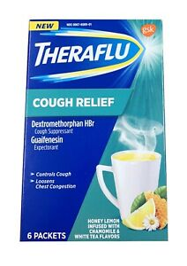 Theraflu Cough Relief 6 Packets Exp. 10/2021 or better