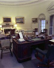 President John F. Kennedy Oval Office Resolute desk White House New 8x10 Photo