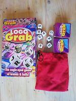 Logo Grab Board Game by Drummond Park Kit Kat Heinz Beans Smarties Twingo etc.