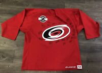 Carolina Hurricanes Singed Jersey Jofa NHL Center Ice Size 56