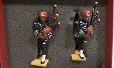 Army: 17TH purbiah Drum Major & PIPER SOLDATI metallici realizzati da Britains 00139