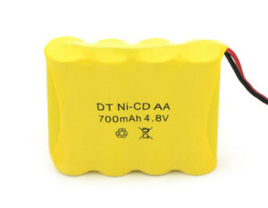 Rechargeable 4.8V 700 mAh Ni-Cd AA Battery Pack For RC Boat Car Truck  UK