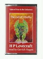 RARE/HP LOVECRAFT AUDIOBOOK/CALL OF CTHULHU/MINT/HORROR/CASSETTE/RPG