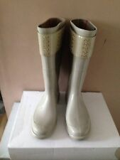 Burberry Ladies Rain Boots Size 40