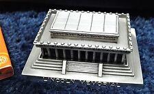 """""""LINCOLN MEMORIAL"""" ARCHITECTURE MODEL BUILDING REPLICA SOUVENIR PEWTER WASHTN DC"""