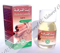 Huile de Cannelle (Macérât) 100% Naturelle 30ml Cinnamon Oil, Aceite de Canela