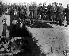 NEW 8x10 Photo of Burial of the dead after the massacre of Wounded Knee 1891