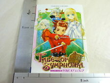 Tales of Symphonia Game Guide Book Japan Play Station 2 VJ 296 x *