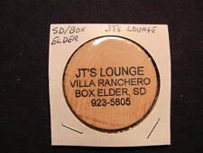 Box Elder, South Dakota Wooden Nickel token - JT's Lounge Wooden Nickel Coin DRI