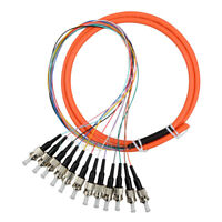 2m MPO Female to MPO Female 12 Fibers OM3 50//125 Multimode Trunk Cable 267645