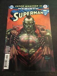 Superman#12 Incredible Condition 9.4(2017) Mahnke Art!!