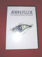 Aeon Flux Dvd Sampler (Mtv Animated Series) Brand New
