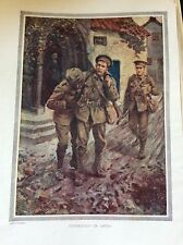 m17a4 ephemera book plate 1920s comrades in arms ww1