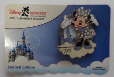 Disney Pin Wdw Disney's Rewards Visa Cardmember Pin 2007 Minnie Mouse Pin
