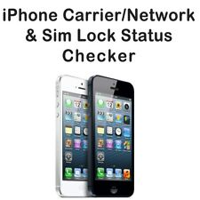 APPLE iPHONE SIM-LOCK + CARRIER  BY  IMEI