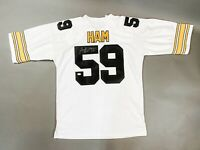 "Jack Ham Autographed Signed NFL Pittsburgh Steelers ""HOF 88"" Jersey JSA Coa"
