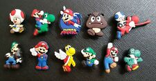 11 x Super Mario Shoe Charms Made For Croc shoes Crocs Jibbitz Charm Nintendo