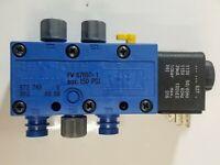 NEW NOS Rexroth Mecman 67697-1 Pneumatic Valve 740 Max 150 PSI pw-067697-0001