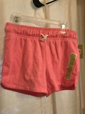 Circo Pink Cotton Shorts Girls Size Large (10/12) Brand New Draw String Tie
