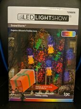 LED Light Show holiday projector