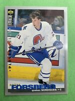 1993-95 Upper Deck Collector's Choice Player's Club #26 Peter Forsberg Quebec