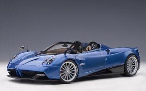 AUTOart 78286 - Pagani Huayra Roadster (Blue Carbon) - Neu