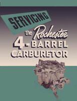 OEM Repair Maintenance Shop Manual Buick Rochester 4-Barrel Carburetor 1955-1956