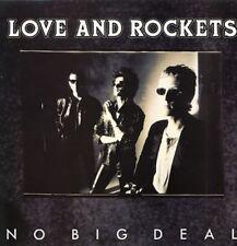 """Love & Rockets No Big Deal 2 mixes - US 12"""""""