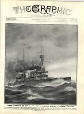 1909 Armoured Cruiser Invincible Making World Record