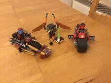 Lego Ninjago 70600 Ninja Bike Chase With 3 Minifigures- COMPLETE