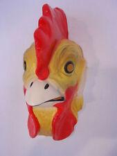 Tiermaske Hahn Huhn Maske Tier Fasching Karneval Kostüm