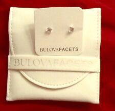 NEW Bulova Facets Earrings