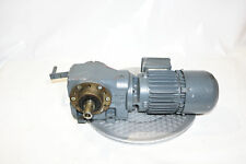Flender moteur électrique kf34-m1p4-ps/3n + boîte de vitesses