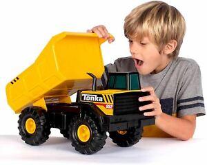 Tonka Steel Classics Mighty Dump Truck Vehicle Toy Children Kids Construction