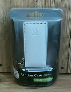iPod Nano 2nd Gen White Leather Flip Case Capdase 2GB 4GB 8GB