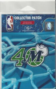 "2020 2021 Dallas Mavericks 40th Anniversary Logo Patch in Pkg 3"" x 1 1/2"" NBA"