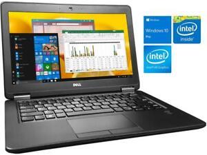 "Dell Latitude E5250 Laptop 12.5"" HD, Intel i3-5010U,4GB RAM,240GB SSD Windows 10"