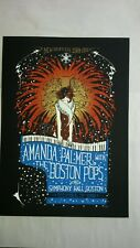 Amanda Palmer Concert Poster Malleus Boston Pops New Year's Eve 2009 12/31/2009
