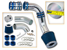 BCP BLUE 99-05 Grand AM/Alero 3.4L V6 Cold Air Intake Induction Kit + Filter
