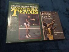 Dennis Van Der Meer Tennis Instructional Books