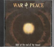 War & Peace: Light At The End Of The Tunnel, 10 Track CD