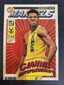 Giannis Antetokounmpo 2019-20 Donruss Net Marvels #11 Milwaukee