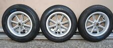 Replacement Set of 3 Trikke T8 Air Wheels with Tires / Sealed Bearings  +Xllnt!+