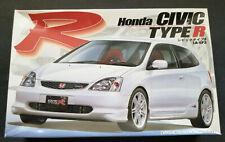 Fujimi 1/24 Honda Civic Type R - Plastic Model Kit - 2002