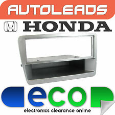 Autoleads Honda Civic EP3 2000-2005 Silver Stereo Fascia Facia Replacement Panel
