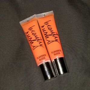 Citrus Kissed Beauty Rush By Victoria's Secret Limited Edition Htf Lip Gloss X2