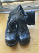 Vintage Corcoran Military Jump Boots Black Leather size 10D