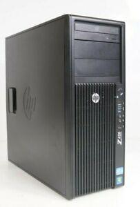 HP Z420 Workstation TWR Intel Xeon E5-1603 8GB 500GB HDD WIN7COA K2000 No OS
