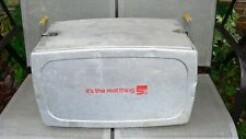 Vintage  Aluminum Coca Cola It's the real thing Cooler by Progress Refrigerator